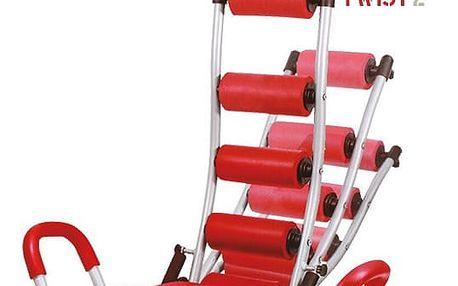 Posilovací stroj ABDO Trainer Twist Sit Up Bench s Nástavci pro Hrudník