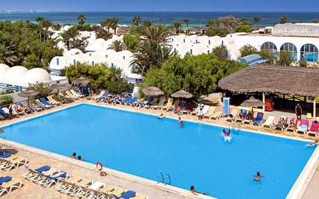 Hotel Dar Djerba Resort Zahra Club, Djerba, Tunisko, letecky, all inclusive
