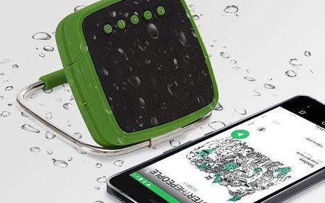 Přenosný Bluetooth Reproduktor CuboQ Solar Power