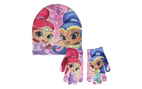 Čepice a rukavice Shimmer and Shine 270