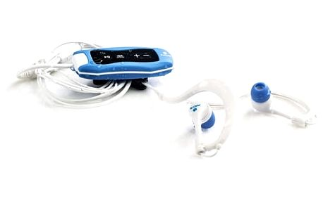 MP3 přehrávač NGS Sea Weed Blue 4 GB FM Waterproof