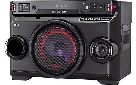 Party reproduktor LG OM4560 černý + DOPRAVA ZDARMA