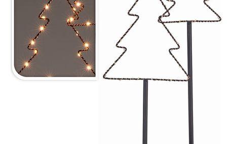 Dekorační LED stromeček, 40 cm