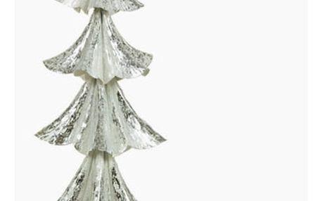 Vánoční stromeček Železo Stříbřitý 20 x 20 x 44 cm by Homania
