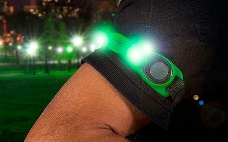 Bezpečnostní LED Páska na Ruku GoFit