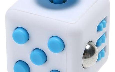 Antistresová kostka Fidget Cube, 11 druhů, hračka pro neposedné ruce, kostička je malá.