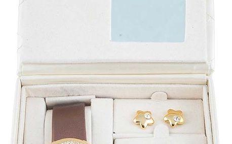 Sada náhrdelníku a náušnic pro ženy Pierre Cardin PCX5404L229 4 pcs