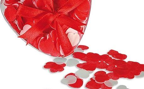 Srdíčkové konfety do koupele