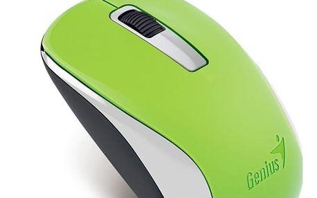 Myš Genius NX-7005 (31030127105) zelená / BlueTrack / 3 tlačítka / 1200dpi