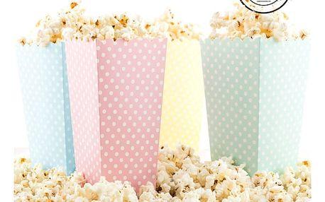 Kyblík na Popcorn s Puntíky 10 kusů