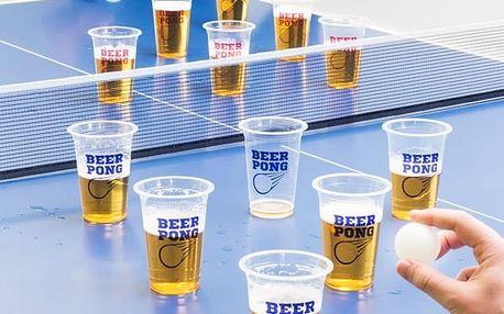 Alkoholová Hra Beer Pong