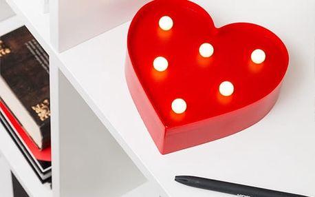 LED Světlo Srdce Shine Inline