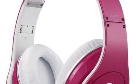 Sluchátka MONSTER Beats 128742 Růžový Čelenka