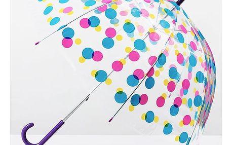 Vícebarevný Hluboký Holový Deštník