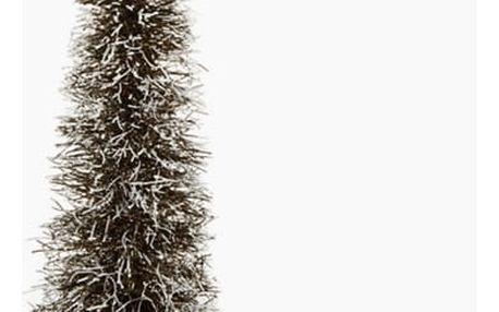 Vánoční stromeček Ratan Přírodní Bílý 15 x 15 x 40 cm by Homania