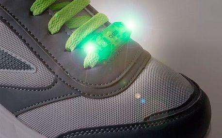 Bezpečnostní LED Světlo na Tkaničky GoFit 2 kusy v balení