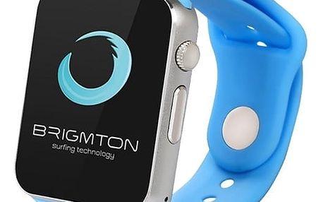 Chytré hodinky BRIGMTON BWATCH-BT4A 1.54in 55 g Modrý