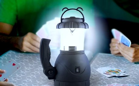 Kempingová Lampa s Baterkou Lamp Venture