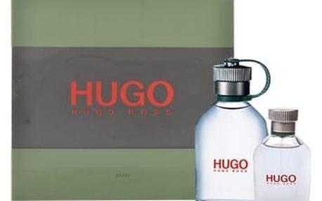 HUGO BOSS Hugo Man dárková kazeta pro muže toaletní voda 125 ml + toaletní voda 40 ml