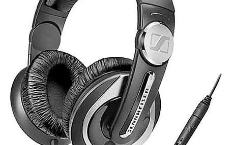 Sluchátka s mikrofonem Sennheiser HD335S Černý Čelenka