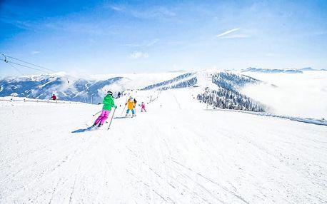Rakouské Alpy s polopenzí a ski passem