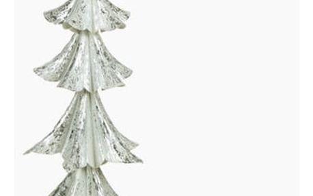 Vánoční stromeček Železo Stříbřitý 25 x 25 x 63 cm by Homania