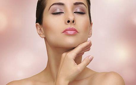 Masáž obličeje a dekoltu lávovými kameny s možností kompletního kosmetického ošetření.