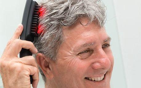 Masážní Kartáč na Vlasy s Laserem Hair·Force One