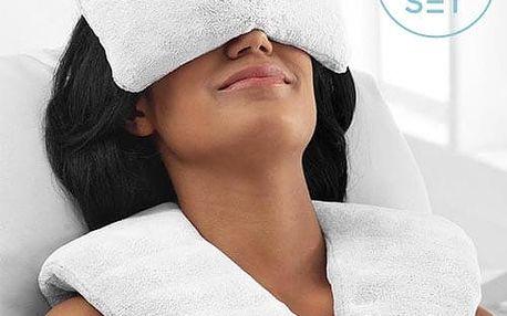 Wellness sada Zen polštářek + relaxační obklady | Hřejivé i chladící