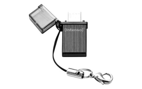 Flash Disk USB a Micro USB INTENSO 3524480 32 GB Černý