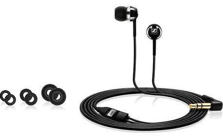 Sluchátka Sennheiser CX 1.00 Black 28 ohm 119 dB Černý