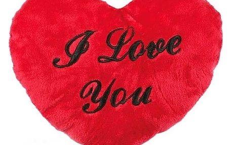 XL Plyšové srdce I Love You 60 cm