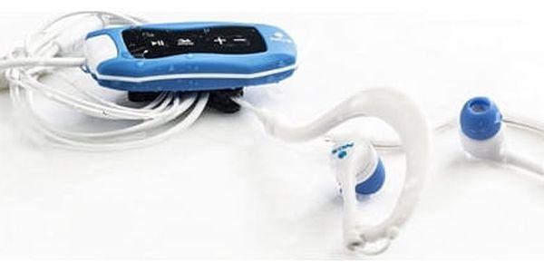 MP3 přehrávač NGS Sea Weed Blue 4 GB FM Waterproof
