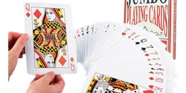 Obří hrací karty