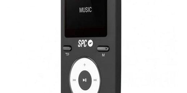MP4 přehrávač SPC Pure Sound Colour 2 8 GB Černý