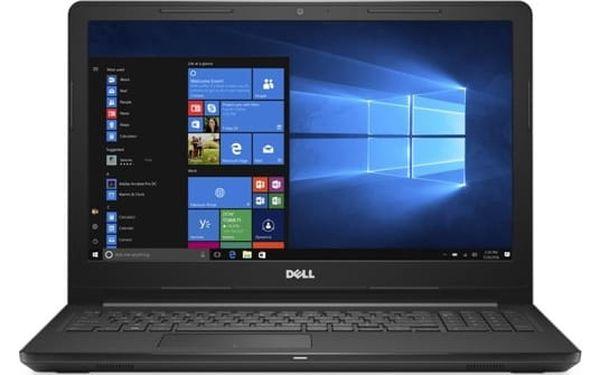 Notebook Dell 15 3000 (3567) (N-3567-N2-313S) stříbrný Software Microsoft Office 365 pro jednotlivce CZ + Software F-Secure SAFE, 3 zařízení / 6 měsíců + Monitorovací software Pinya Guard - licence na 6 měsíců v hodnotě 2 278 Kč + DOPRAVA ZDARMA