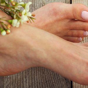 Antistresová SPA pedikúra pro uvolnění nohou