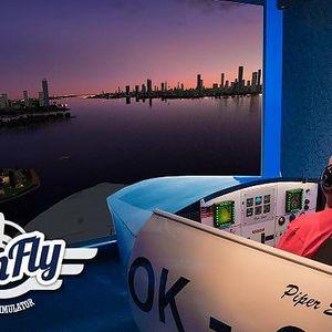 30 až 60 minut v leteckém simulátoru SimFly v Praze