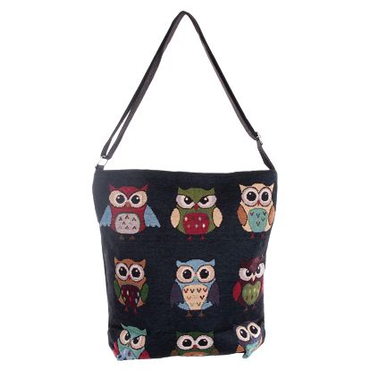Fashion Icon Kabelka Sovy crossbody shopper