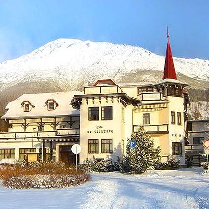 Villa Dr. Szontagh, Kus historie i romantiky v krásné vile srdci Vysokých Tater