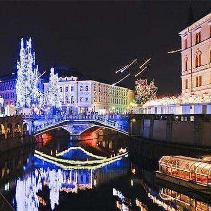 2denní zájezd pro 1 do lázní a na vánoční trhy do slovinské Lublaně s prohlídkou města