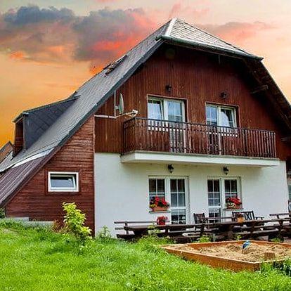 3–4denní pobyt pro 2 osoby s polopenzí v penzionu Geppert v Jeseníkách