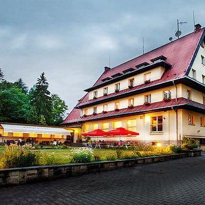 3denní pobyt s all inclusive vínem pro 2 v Českém ráji v Parkhotelu Skalní město***