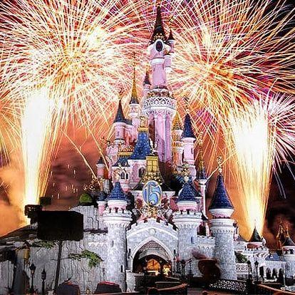 4denní zájezd pro 1 osobu do adventní Paříže s ubytováním a návštěvou Disneylandu