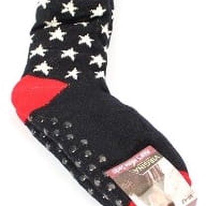 Pánské vyteplené ponožky blue STAR