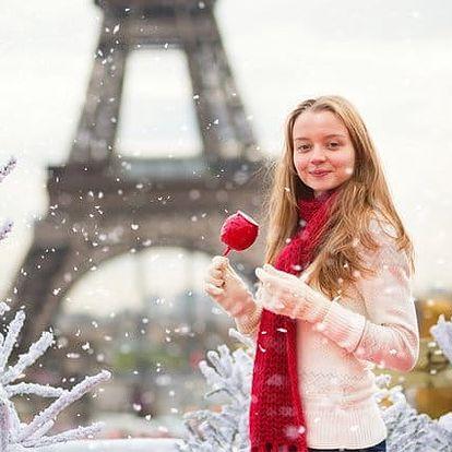 4denní zájezd pro 1 osobu do adventní Paříže s ubytováním v hotelu včetně snídaně