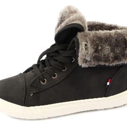 Dámské kotníkové boty CASUAL černé