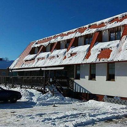 2 až 8denní pobyt s polopenzí pro 2 v hotelu Vintíř Hartmanice na Šumavě