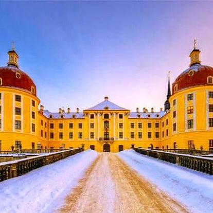 Celodenní zájezd pro 1 za výstavou o Popelce do německého Moritzburgu s prohlídkou Drážďan