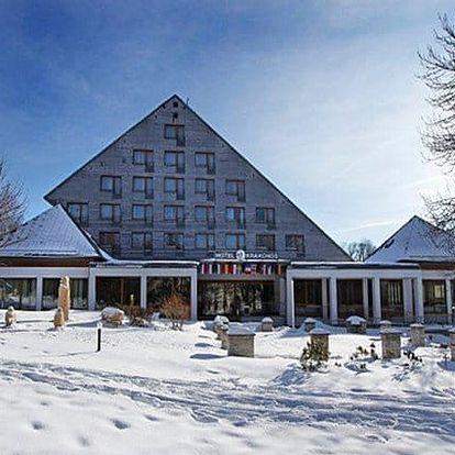4–5denní vánoční pobyt pro 2 s wellness v Mariánských Lázních v hotelu Krakonoš***